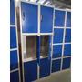 Locker 12 Puertas Con Cerradura, Nuevos, Guardarropa Metalic