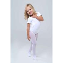 Collant Ballet Infantil Branco