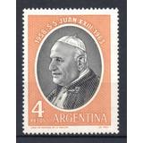 Argentina 1964 Gj 1280** Me 688 Mint S. S. Juan X X I I I