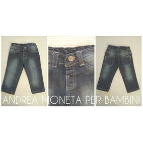 Pantalon De Jean Para Bebe Azul Strech Unisex Nena Nene