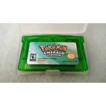 Jogo Pokemon Emerald Cartucho Gameboy Advance Gba Novo