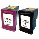 Kit 2 Cartuchos Tinta 122xl Negro Y 122xl Color Generico