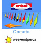 Boyas Cribal Cometa 205/0juegox3 Colores-weekendpesca-envíos