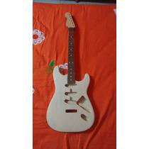 Kit Corpo E Braço De Stratocaster Handmade