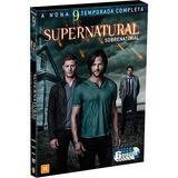 Supernatural 9ª Temporada Original/lacrada - 6 Discos
