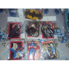 Llaveros Marvel Dc Comics Capitan America Batman Joker Spide