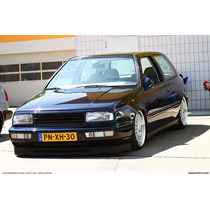 Spoiler Flexible Eurolip Ancho Vw Mk3 Vr6 Gti Golf Jetta