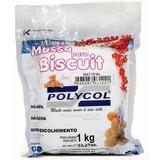 Massa De Biscuit Polycol Natural 1kg