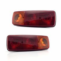 Lanterna Traseira Caminhão Mercedes Benz 608 1113 1313 Par