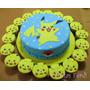 Pokemon Torta Decorada 2 Kg