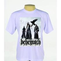 Camisa Camiseta Personalizada Banda Behemoth Rock Metal
