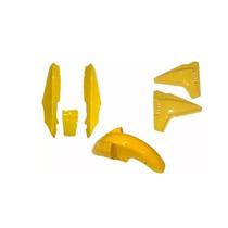 Kit Completo Rabeta Paralama Tampa Dafra Speed 150 Amarelo