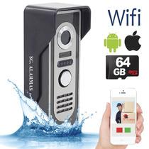 Timbre Camara Wifi App - Video Portero Inalámbrico Seguridad
