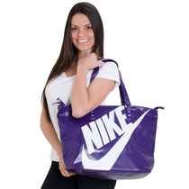 Bolsa Nike Dama Original, Negra/ Violeta, Envio Gratis Dhl