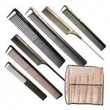Set Peines Profesionales Peluqueria Pelo Corte Peinado