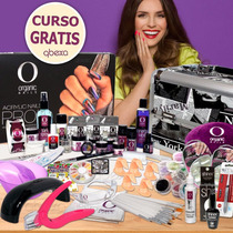 Kit Organic Nails, Lámpara Uvled, Neceser, Signalart, Shinex