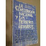 La Constitución Nacional Y Los Derechos Humanos-vanossi