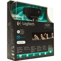 Câmera Webcam C920 Logitech Hd 1800p Pc/notebook/mac/window