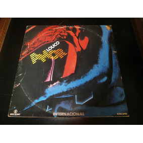 Lp Trilha Sonora Internacional Louco Amor, Disco Vinil, 1983