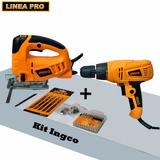 Kit Combinado Ingco Caladora 570w+ Atornillador 280w+ Regalo