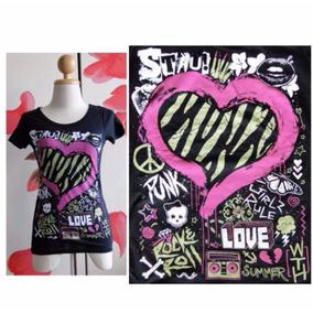 Blusa T-shirt Kissing Abbey Dawn By Avril Lavigne - Tam P
