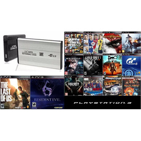Hd Externo 1 Tera , Playstation 3 , Ps3 Com 3000 Jogos