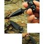 Mini Faca Push T Dagger Fulltang Com Conrrente Pescoço Top