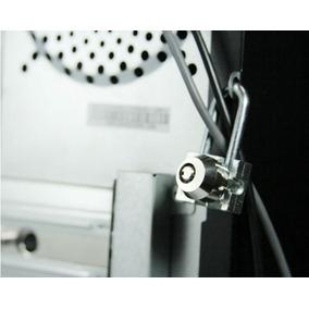 Trava Desktop Pc Segurança Gabinete, Teclado Ou Monitor.