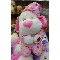Cachorro De Pelúcia Que Reza O Pai Nosso Rosa Fofy Toys
