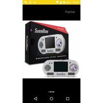 Console Hiperkin Snes , Super Nintendo Portatil Supa Boy ...