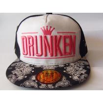 Jockey Mujer Drunken - Snapback (new-way)- 2x 10 Mil