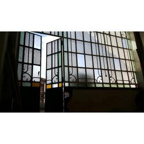 Ventanal Antiguo + Puerta. Excelente Estado.