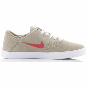 Zapatillas Nike Sb Check Beige Oferta Original Unisex Nuevas