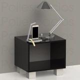 Mesa De Noche Minimalista Moderna De Lujo. Decoración Hogar