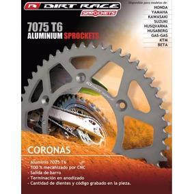 Corona Aluminio Dirtrace Yzf 250 450 Tornado 50 Dientes