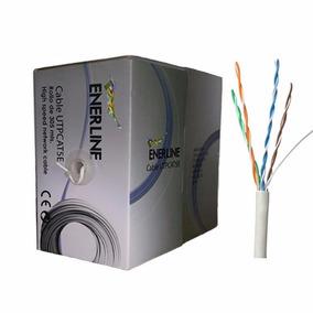 Cable Utp Cat6 Certificado Bobina 305m Cctv Lan Red