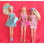 Barbies Mattel C/ropa Orig Muy Buenas Y Completas Retro-toy