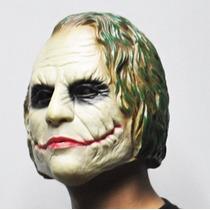 Mascara Coringa Joker Borracha Latex Batman Halloween Festa