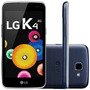 Oferta Lg K4 K130f Dual Android 5.1 Azul Índigo Nacional
