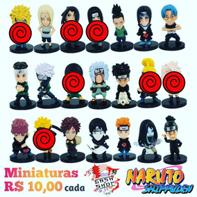 Naruto Shippudem Action Figure Figuras Ação Pçs