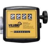 Medidor Mecânico 4 Dígitos P/ Óleo Diesel Querosene Vilubri