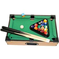 Brinquedo Jogo Mini Mesa De Bilhar Snooker Sinuca Infantil