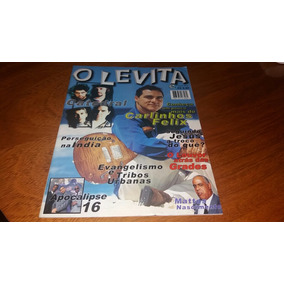 Revista O Levita Ano Ii N°8 Carlinhos Félix Raridade Gospel