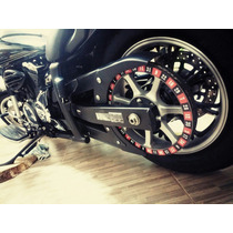 Adesivo Polia Roleta Casino Yamaha Midnight Star 950