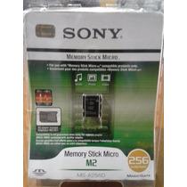 Memory Stick Micro M2 256mb Nueva