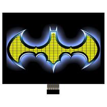 Camis Blusa Batman Led Acende Brilha Pisca Musica Som Festa