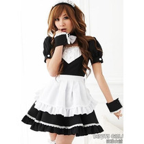 Traje Maid Cosplay Anime Kawaii