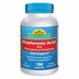 Acido Hialuronico C/ Glucosamina Y Condroitin X 120 Caps!