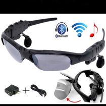 Lentes De Sol Con Bluetooth Reproductor De Mp3 Manos Libres