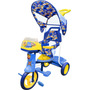 Triciclo 2 En 1 Rainbow Azul